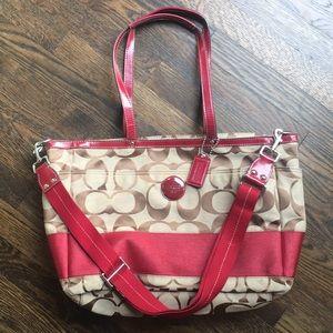Like NEW Coach Diaper bag